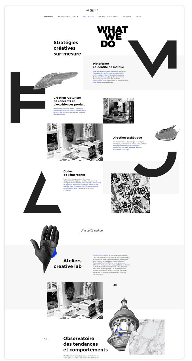 webdesign Alchimi Paris