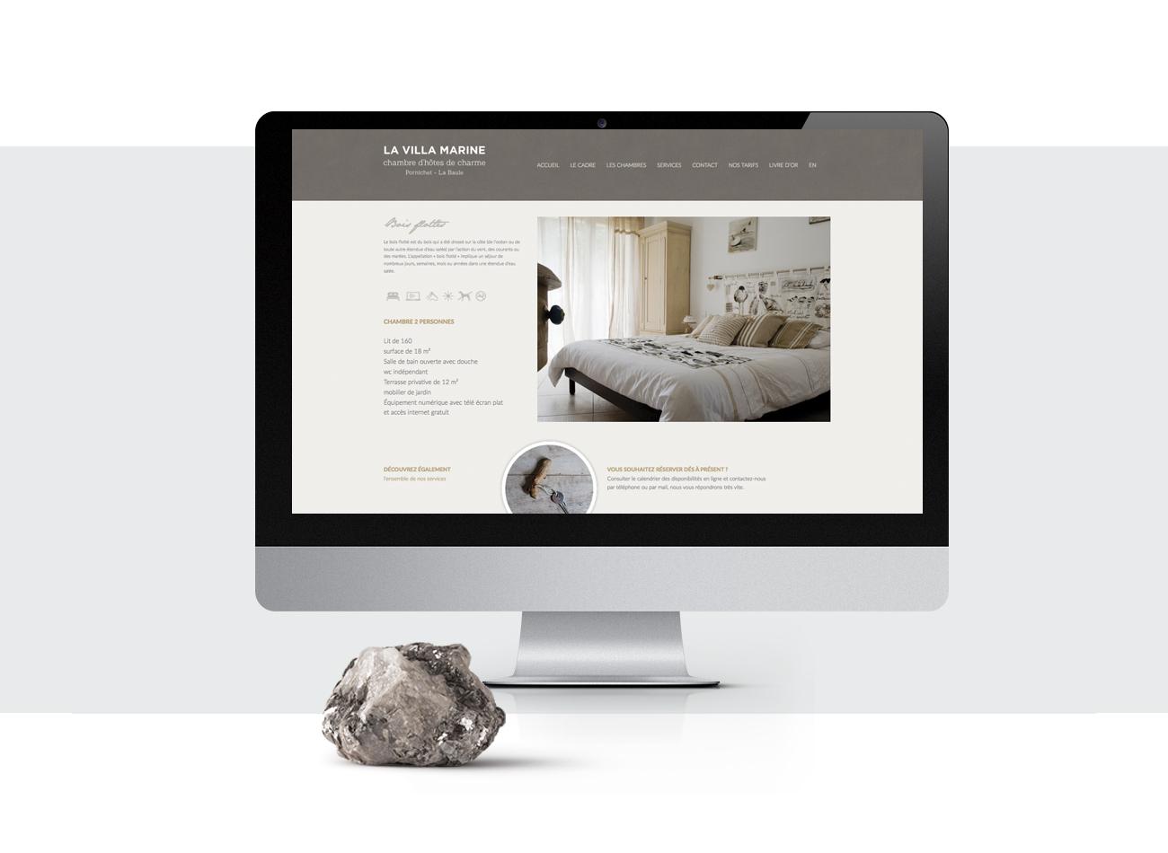Webdesign la villa marine
