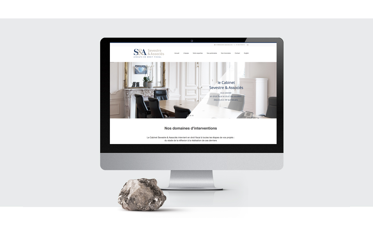 Sevestre Associés site internet